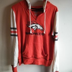 Denver Broncos hoodie,sizeM